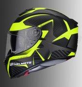 Helm MT Blade II SV Blaster mat fluor geel M