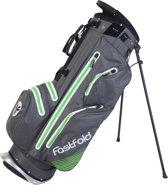 FastFold - Waterproof Standbag - 9 Inch - grijs/lime