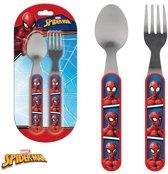Spider-Man Bestek set - 2-delig