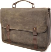 Barbarossa Ruvido Brief Case Laptop Schoudertas 15.4 Military