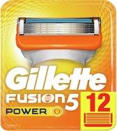 Gillette Fusion5 Power - 12 Stuks - Scheermesjes