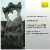 Fantasia In F Minor Op.103 D 940, Sonata