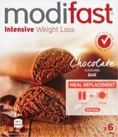 Modifast Lunchrepen Chocolade- 6 repen