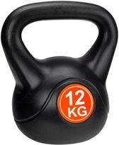 Avento KettleBell - 12 kg - Zwart/Rood