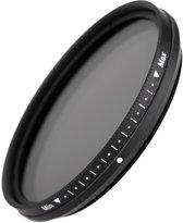 77mm Variabele ND2-2000 Lens Filter / Grijsfilter