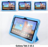 Samsung Tab 2 10.1 - P5100 - Business Boekmodel case Tablet - L Blauw