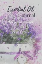 Essential Oil Recipe Journal - Special Blends & Favorite Recipes - 6'' x 9'' 100 pages Blank Notebook Organizer Book 9