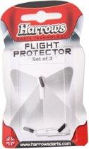 Harrows darts Flight protector aluminium per 3 stuks zwart