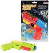 Space pistool met licht en geluid voor kinderen  Groen