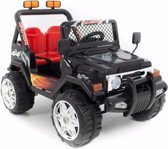 Jeep kinderauto zwart