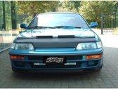 AutoStyle Motorkapsteenslaghoes Honda Civic/CRX ED9 1990-1992 zwart (excl. VTec)