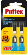 Pattex Secondelijm Supergel - 2 x 3 gr