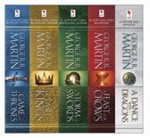 Game of Thrones: A Song of Ice and Fire ebook collection (1-5)