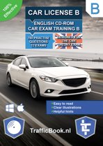 Car License B – English CD-Rom Car Exam Training B – 845 practise questions – 13 Theory Exams – Designed for the CBR Theory Exam 2019