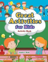 Great Activities for Kids Activity Book