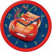 Cars wandklok Bliksem McQueen 26 cm voor jongens