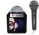 iDance Sing Cube 100 5W Zwart