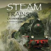 Steam Trains Calendar 2020: 16 Month Calendar