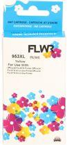 FLWR - Inktcartridge / 953XL Geel - Geschikt voor HP