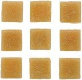 30 stuks vierkante mozaieksteentjes beige 2 cm