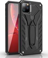 Mobigear Shockproof Stand Hoesje Zwart Apple iPhone 11 Pro