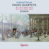 Faure: Piano Quartets