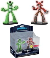 Five Nights at Freddy's - Freddy & Foxy Glow 2-Pack Figures