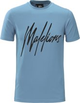 Malelions T-shirt Signature Blue/Black