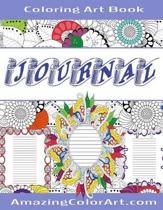 Coloring Art Journal Book