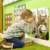 Vier bolle spiegels