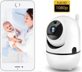 Hardloper | Babyfoon Met Camera - Bediening Middels Veilige App - HD Beeld -Beweeg En Geluidsdetectie - Verbinding Middels Wi-Fi - Smart Camera - Opslag In Cloud Of SD - Babyfoon - Strak Design - 1080P HD - Higestone