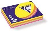 Clairefontaine Trophée - Kopieerpapier- A4 80 gram - Assorti Fluro kleuren - 100 vellen