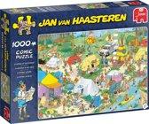 Jan van Haasteren legpuzzel Kamperen in het Bos Puzzel 1000 Stukjes