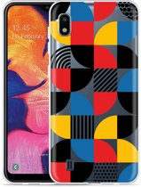 Galaxy A10 Hoesje Abstract Pattern