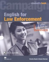 English for Law Enforcement Student book and CD-ROM Pack
