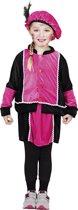 Pieten kostuum kinderen met rokje roze (4-6 jaar) - Carnavalskleding