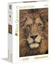 Clementoni puzzel 500 stukjes Lion Face