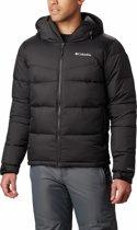 Columbia Iceline Ridge Jacket Heren Wintersportjas - Black - Maat XL