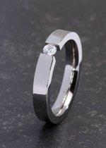 ZELZI Titanium ring: Fortini 17 millimeter