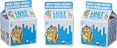 Lost Kitties 3-pack speelfiguur