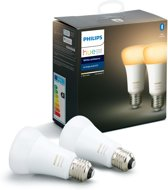Philips Hue Duopack - White Ambiance - E27 - 2 Lampen - Bluetooth