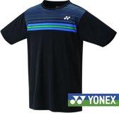 Yonex mannen t-shirt -zwart -maat M