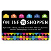 Webshop giftcard  - 50 euro