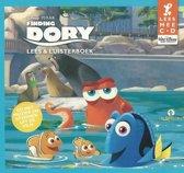 Finding Dory Lees mee CD en Luisterboek – 14x12x1cm | Luisteren naar Verhalen | Boek met CD | Leren lezen
