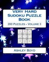 Very Hard Sudoku Puzzle Book Volume 3
