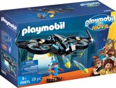PLAYMOBIL: THE MOVIE Robotitron met drone - 70071