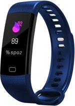 OPTIBLE-Stappenteller-Horloge-Activity Tracker-Blauw-Smart-App