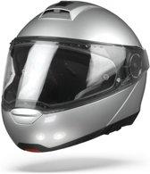 Schuberth C4 Pro Zilver Systeemhelm - Motorhelm - Maat M