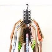 Kledinghaak multifunctioneel | Kleren Kast Hangers Ruimtebesparend Haak Organisator Droogrek Vouwen Kleren Opslag Rack