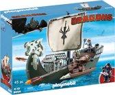 PLAYMOBIL Drago's schip  - 9244